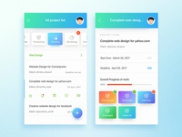 Project Board - Project Management Application Concept