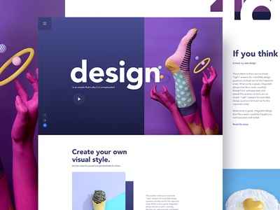 Good design is obvious. Great design is transparent .! gmail google design creative color gradient typography template ui ux