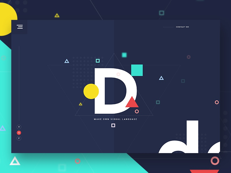 Free Sketch : Simplicity, wit, and good typography ux ui template typography gradient color creative design google gmail