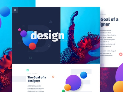 Design is an opportunity to continue telling the story new trend bubble ux ui template typography gradient color creative design google gmail
