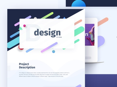 Experimental Design on Behance gmail google design creative color gradient typography template ui ux bubble new trend
