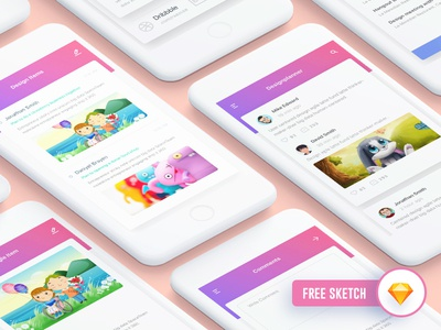 Designplanner Freebie iOS App Design
