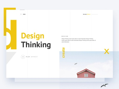 Design Thinking gmail google design creative color gradient typography template ui ux bubble new trend