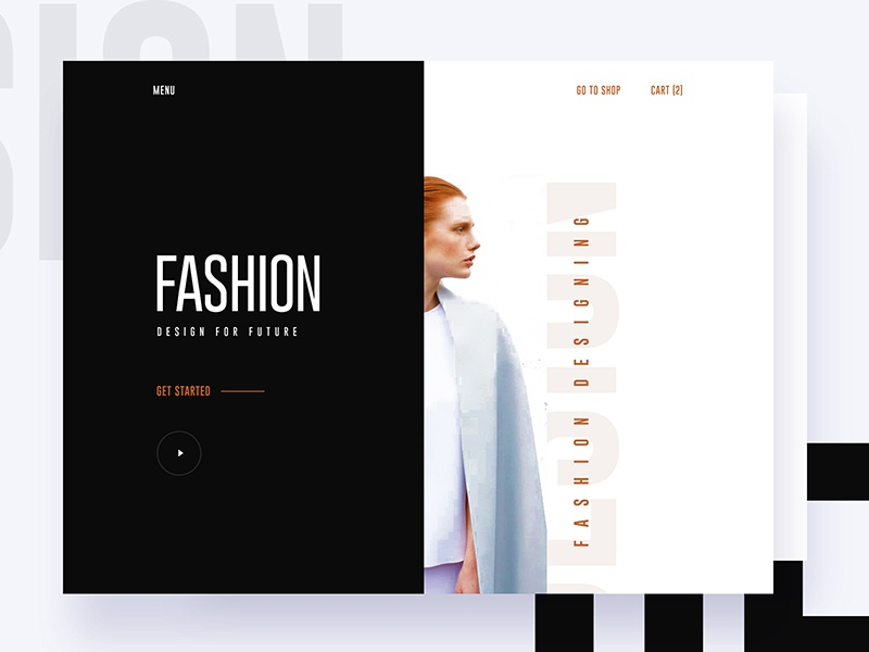 Free PSD for PSD Lovers : Fashion Designing gmail google design creative color gradient typography template ui ux