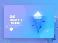 Raaz das   thumbnil dribbble uinugget preview
