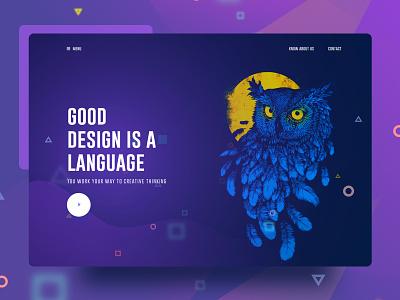 Visual Language 4 gmail google design creative color gradient typography template ui ux bubble new trend