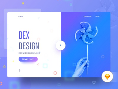 Free Free : Visual Language 8 gmail google design creative color gradient typography template ui ux bubble new trend