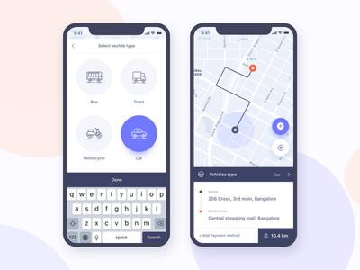 Parking Finder:  iOS Application Design