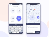 Parking Finder:  iOS Application Design