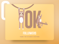 10K Followers – Thank you