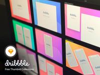 Dribbble Thumbnail Mockup Collections