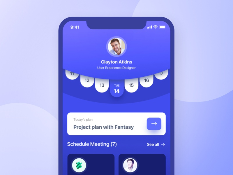 WIP : Project Management iOS Application