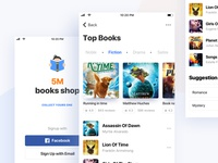 5M books Shop : iOS Application