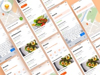 Running : Food App Design