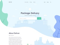 Delivery home page by team uinugget