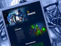 Dota2 : Team Profile
