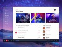 Music Player Desktop Application - 1