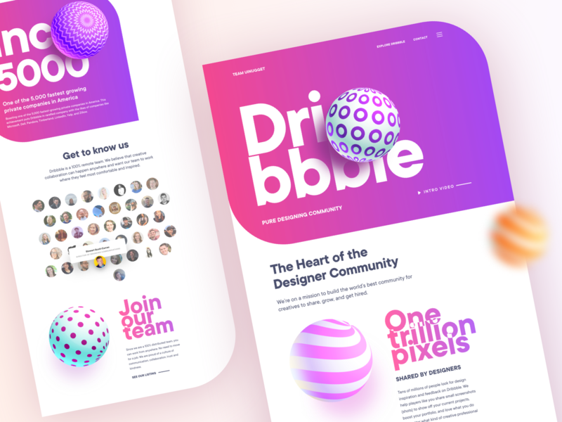 Dribbble: Thank you Dribbble design by teamuinugget uinugget teamuinugget design dribbble debut dribbble best shot dribbble app dribbble