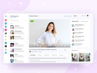 Online Learning Platform : Screen 02