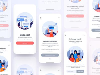 Coming on App Store : Dating App illustration dribbble best shot design payment profile success dating website teamuinugget illustrations dating app