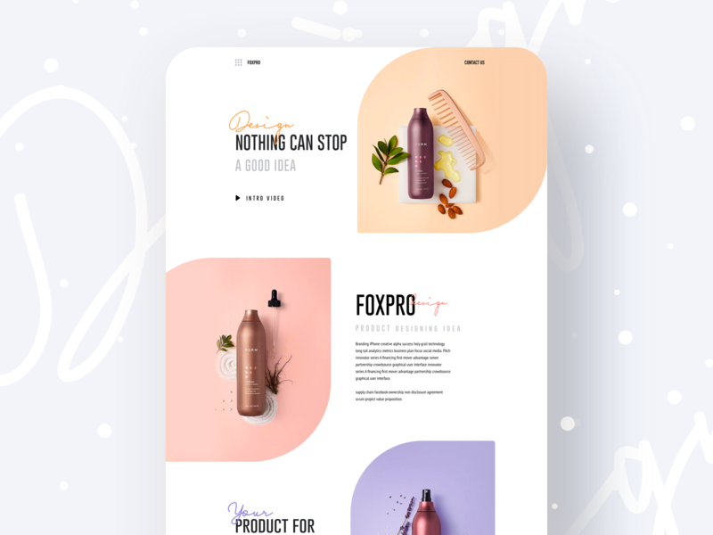 Nothing Can Stop web app landing page vector branding typography template gradient gmail landing page illustration dribbble best shot designer creative design foxpro