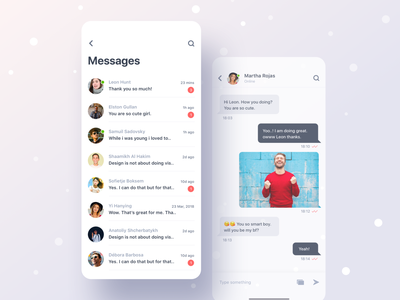 Messages & Chats web mobile daring app dating dating website creative dribbble best shot illustration vector message match no message no matches sorry