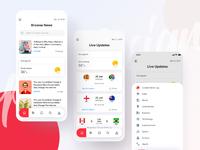 Preview news app