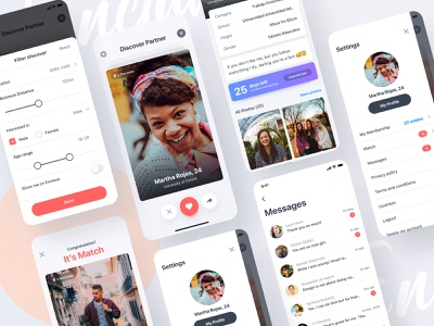 Enclave is Live vector enclave datingapp dating dating website dating app social app social profile uinugget social network swipe plan page chat app chatting chat dribbble best shot plants
