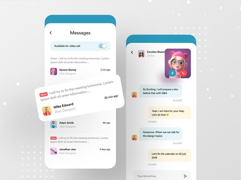 Design Mentor App google design ofspace ux dribbble best shot google ad banner android app ios app message app chat app messages chat google mentors mentorship mentoring mentor