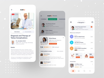 Medical App branding case study ux ios app design ios app dribbble best shot dribbble ofspace health care health app healthcare healthy health medical design medical logo medical care medical app medical