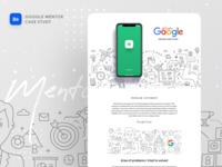 Google Mentor Case Study