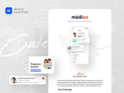 Medical App Case Study chat app online doctor pregnancy doctor app doctors doctor health care health app healthcare healthy health medical design medical logo medical care medical app medical