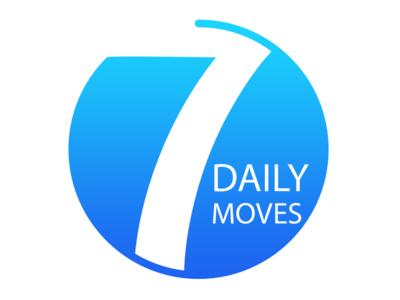 7 Daily Moves - Logo Design