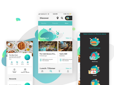 Reelo: Loyalty App for small business loyalty loyalty program solutelabs ux ui