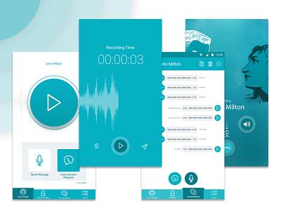 Voice Dating App dating app design ux ui