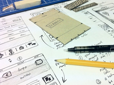 UX Sketches iphone app icons social media location sketches drawings ui design template sketch sketchbook iphone 4 iphone 5 ui ux wireframes