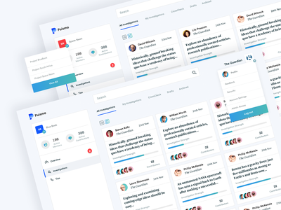 Puismo news dashboard kpi time tracking time management ui  ux design analytics analytical crm project management tool project management dashboard ux dashboard design dashboard ui ux ui