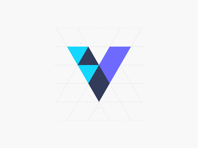 Vamba Symbol logo design morgage colourful colour symbol workmark vector sans serif modern logo identity home house branding stationary design stationary flat color logo flatlogo logotype logodesign logo