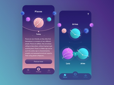Zodiapp space app space constellation planets zodiac sign astrology app astrology zodiac app zodiac