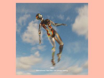 Ex.281 photoshop blender music 3d journey empty alone sleeve vinyl sad cover album