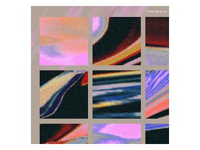Ex.263 cd lp pixels color noise grain texture abstract music sleeve vinyl cover art album