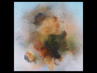 Ex.300 grunge grit spray paint texture abstract lp ep sleeve vinyl cover art album