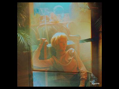 Ex.301 film portrait woman sleeve music photosbash overlay gradient noise grain lp ep vinyl cover art album