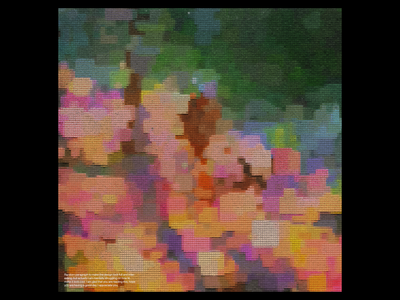 Ex.302 music sleeve vinyl lp ep abstract purples pinks blues orange warm pastel squares geometric lofi art album