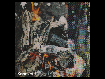 Ex.304 grain texture film vintage fire screen dots halftone abstract cd lp ep sleeve vinyl cover art album