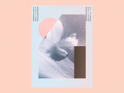 243 geometric illustration art abstract challenge design everyday poster