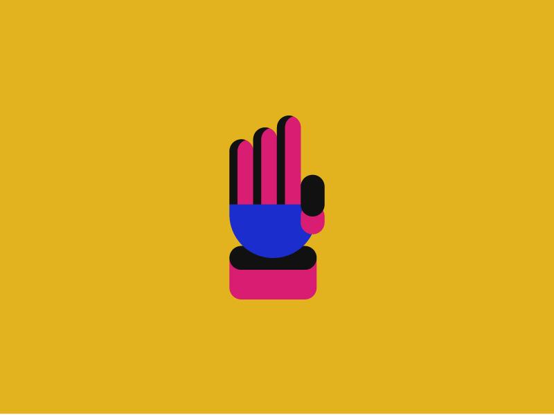 Invite Giveaway three hand designers contest prize giveaway invite dribbble