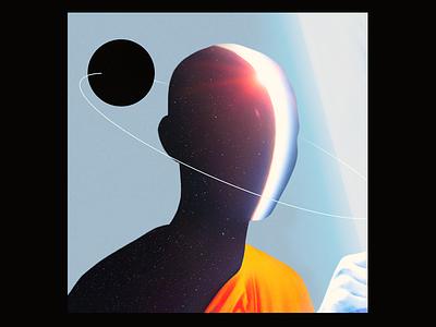 Experimenting #143 edwin carl capalla challenge poster illustration vinyl sleeve abstract cd lp ep design cover art album
