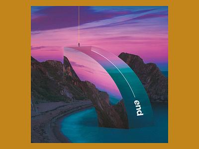 Experimenting #208 track lp cd ep music abstract digital art vinyl sleeve design cover album