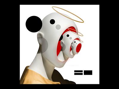 Experimenting #221 music automata robot lp cd ep sleeve vinyl cover art album